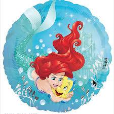 foil balloons the mermaid foil balloons 1pk