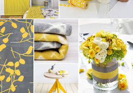 yellow color combination color combinations gray and yellow ideas for interior