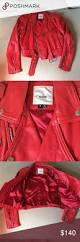 red leather motorcycle jacket vintage red leather motorcycle jacket