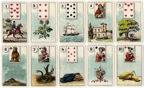 cartes lenormand the world of cards