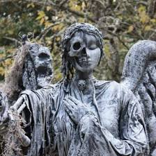cemetery statues creepy cemetery sculptures that will make your skin crawl