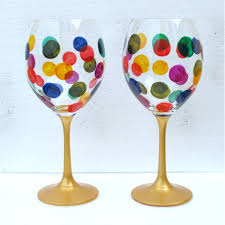 ideas for creative painting of wine glassese paint with me wine