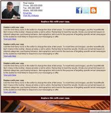 html email newsletter templates custom newsletter designs