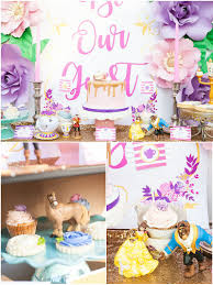 a beauty u0026 the beast inspired birthday party party ideas party