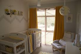 Grey And Yellow Chair Project Nursery Part 2 U2026oscar U0027s Yellow And Grey Chevron Nursery