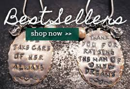 Personalized Stamped Necklace Hand Stamped Jewelry Just For You U0026 Your Loved Ones Handmade Gifts