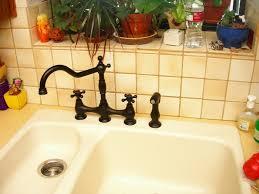 faucets kitchen rustic danze two handle kitchen faucet danze two