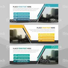 layout banner template corporate business banner template horizontal advertising business