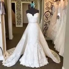 gorgeous wedding dresses bridal c387 gorgeous wedding dress with detachable ebay