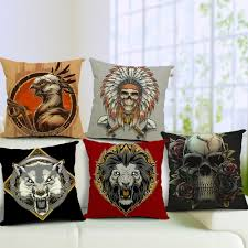 compare prices on skull decorative pillows online shopping buy