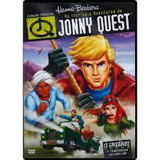 jonny quest dvd as incríveis aventuras de jonny quest notado notado