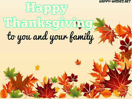 happy thanksgiving to you and your family pictures happy wishes