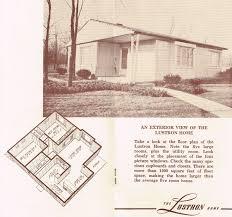 instant house lustron brochures