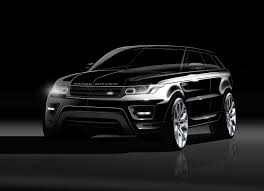 land rover evoque black and white new range rover sport sketches and renderings