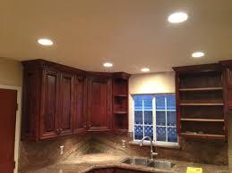 lighting led puck lights with large hardwood floating cabinets