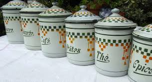 kitchen canisters french cowboysr us
