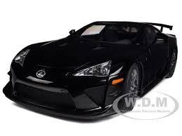 lexus lfa model car lexus lfa nurburgring package glossy black 1 18 diecast model car