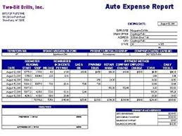 Expense Report Excel Template Auto Expense Report Ms Excel Free Layout Format