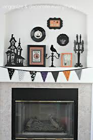 orange u0026 black halloween mantel organize and decorate everything
