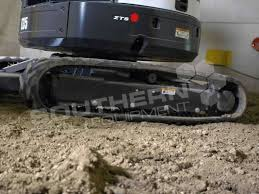 heavy duty rubber tracks to suit kubota u17 mini excavator qld