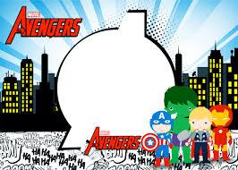 free printable avengers birthday invitations grant accountant