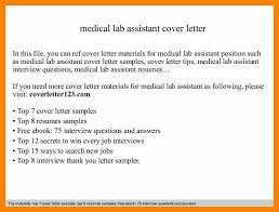 9 medical lab application letter samples new hope stream wood