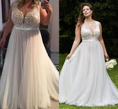 discount 2017 vintage country lace plus size wedding dresses sheer - Plus Size Country Wedding Dresses