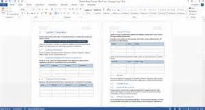 database specification template 28 images database design