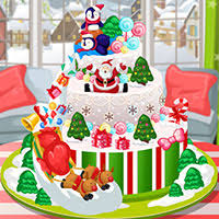 Christmas Cake Decorations Frozen by Play Free Pou Christmas Cake Games On Holidaygames Co