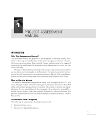 Chemist Resume 1 Project Assessment Manual Guide To Using Existing Pavement In