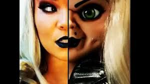Chucky Makeup For Halloween by Bride Of Chucky Makeup Tutorial Video Dailymotion