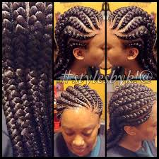 wedding canerow hair styles from nigeria jumbo ghana cornrows using xpressions braiding hair stylesbyk