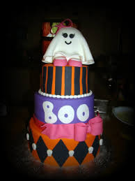 Halloween Cake Pictures by Halloween Baby Shower Cake Cakecentral Com