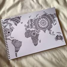 this would be a cool map to hang on my wall art pinterest