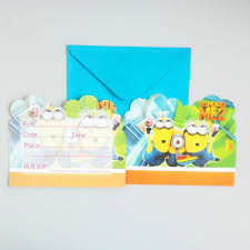 Minions Invitation Card Compare Prices On Minions Invites Online Shopping Buy Low Price