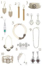 themed accessories great gatsby inspired wedding accessories gatsby and