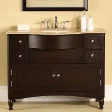 silkroad exclusive 45 single bathroom vanity set