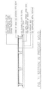 patent us7143555 hybrid precast concrete and metal deck floor