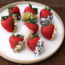 White Chocolate Covered Strawberries Delivery Double Dipped Berries