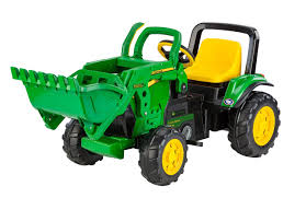 john deere front loader kids get ready for digging