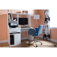 Computer Desk With Hutch by Annexe 1 Drawer Computer Desk Pure White Desks U0026 Workstations