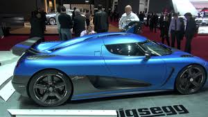 koenigsegg suv koenigsegg agera r matte blue doors closed with lights on youtube