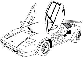 cars coloring pages free printable 2 book pictures print muscle