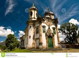brazilian baroque architecture stock image image 19020801
