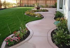 Small Backyard Landscaping Ideas On A Budget by Easy Backyard Ideas On A Budget Midcentury Large Modern Garden For