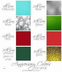 40 anniversary gift wedding colors inspirational colors for 40th wedding anniversary