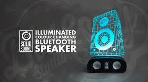 Speaker Design by Solid Sound Reactive Bluetooth Speakers Led Sound To Light Show 3d