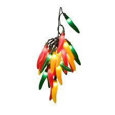 wintergreen lighting 35 light chili pepper cluster string lights