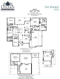 Floor Plan For New Homes by The Hadley Bob White Estates New Home Floor Plan Waxahachie Tx