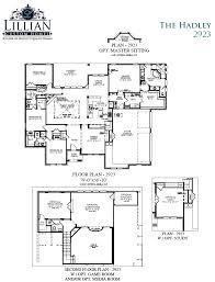the hadley bob white estates new home floor plan waxahachie tx